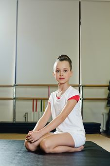Free Portrait Of Gymnast Girl Stock Photography - 19831552