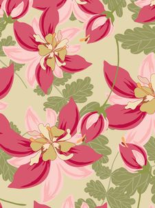 Free Seamless Pattern Floral Stock Images - 19832014