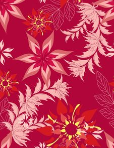 Free Seamless Pattern Floral Stock Photos - 19832053