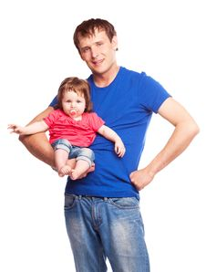 Free Father And Daughter Royalty Free Stock Photos - 19832298