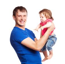 Free Father And Daughter Royalty Free Stock Photo - 19832325