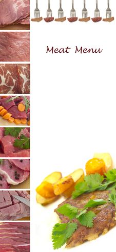 Free Meat Menu Stock Images - 19832644