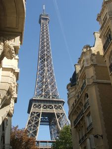 Free Eiffel Tower Royalty Free Stock Photography - 19833237