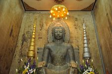 Free Statue Of Old Buddha At Thailand Temple Stock Image - 19833921
