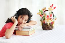 Student And Music Stock Photos