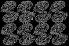 Abstract Pattern. Seamless Floral Background. Royalty Free Stock Photography