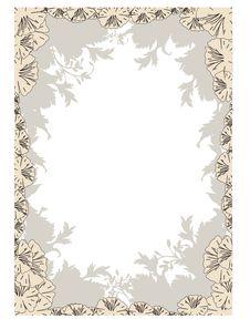Free Flower Frame Stock Images - 19836044