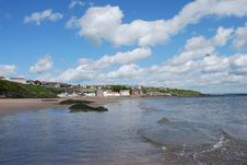 Free Incoming Tide At Kinghorn Stock Photos - 19836363