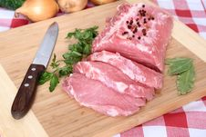 Free Pork Chops Royalty Free Stock Photo - 19837435