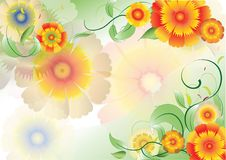 Free Color Flowers Background3 Stock Images - 19837474