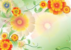 Free Color Flowers Background4 Stock Photos - 19837513