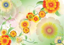 Free Color Flowers Background5 Stock Photos - 19837573