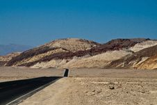 Free Road Through Death Valley Royalty Free Stock Photos - 19837638