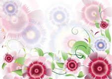 Free Color Purple Flowers Background2 Stock Photo - 19837660