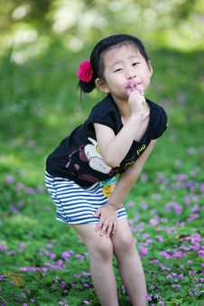 Free Chinese Lovely Girl Stock Photo - 19837670