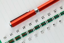 Free Red Pen Stock Photography - 19838172