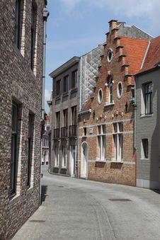 Free Bruges Quiet Cornet Royalty Free Stock Photography - 19838687
