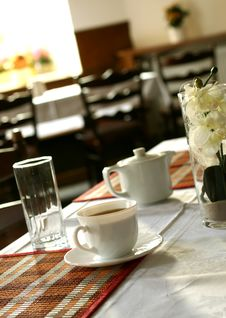 Free Cup Of Tea On A Table Royalty Free Stock Photos - 19838768