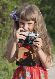 Free Portrait Of The Girl Royalty Free Stock Image - 19838906