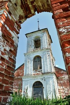 The Bell Tower Of The Orthodox Church. Stock Photography