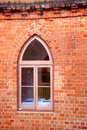 Free Window In A Red Brick Wall Royalty Free Stock Photos - 19843558