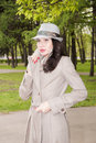 Free Thoughtful Beautiful Brunette Royalty Free Stock Images - 19845159