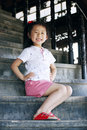 Free Chinese Lovely Girl Royalty Free Stock Photography - 19845827
