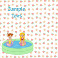 Free Kids In The Swimming Pool Royalty Free Stock Photo - 19845935