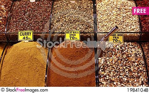 Free Spice Royalty Free Stock Photos - 19841048