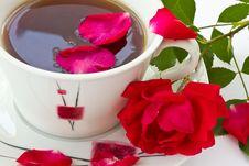 Free Rose Tea Royalty Free Stock Image - 19840416