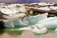 Free Glacier Ice - Jokulsarlon Lake - Iceland Stock Photography - 19840972