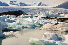 Free Jokulsarlon, Beauty Ice Lagoon In Iceland Stock Photography - 19841132
