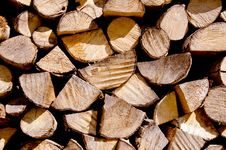 Free Firewood. Stock Photo - 19841700