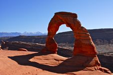 Free Delicate Arch Stock Photography - 19842162
