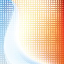 Abstract Modern Background With Waves Stock Image