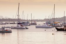 Free Ao Chalong Marina, Phuket Thailand. Stock Image - 19842491