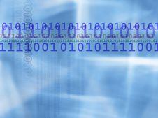 Free Binary Code Background Stock Image - 19843001
