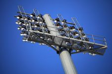 Free Rows Of Stadium Lights Stock Photo - 19843050