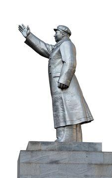 Mao Monument Stock Photo