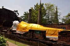 The Reclining Buddha Stock Photos
