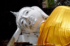 The Reclining Buddha Royalty Free Stock Images