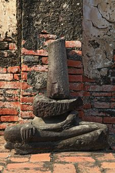 Free Buddha Ruin Stock Photography - 19843662