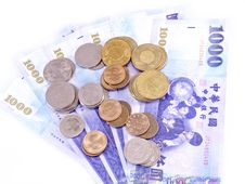 New Taiwan Dollars Currency Stock Photography