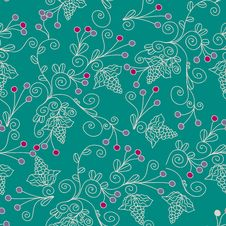 Free Floral Ethnic Seamless Pattern Royalty Free Stock Photography - 19844187