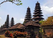 Taman Ayun Temple (Bali, Indonesia) Royalty Free Stock Image
