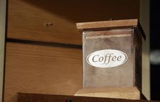 Free Old Box For Coffee Stock Photo - 19844970