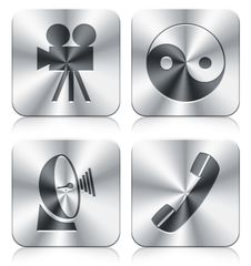 Free Icons Royalty Free Stock Images - 19845519