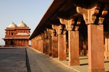 Free Indian Palace In Agra Royalty Free Stock Images - 19845929