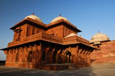 Free Indian Palace In Fatehpur Sikri Stock Photo - 19845930