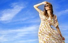 Free Beautiful Girl In Sunglasses Stock Photo - 19846040